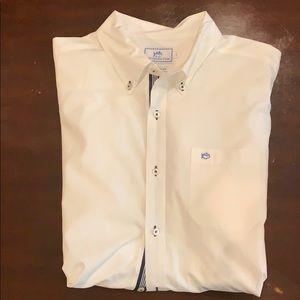 White southern tide dress shirt